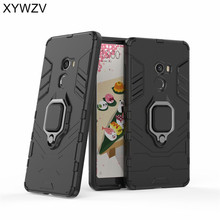 Armor Case Xiaomi Mi Mix 2 Cover Metal Finger Ring Holder Case For Xiaomi Mi Mix 3 Magnetic Phone Case Xiaomi Mi Mix 2 Fundas