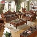 DSinterior мягкая мебель в американском стиле кожаный гарнитур диван