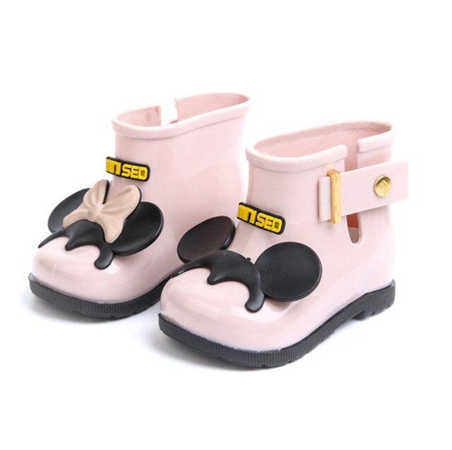 1b48150f6 Детская Обувь для дождя Сапоги и ботинки для девочек обувь для девочек  Высокая летняя обувь детские