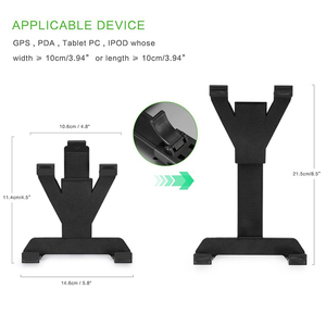 Image 3 - Universele 7 8 9 10 11 inch Tablet PC Houder Auto Auto CD Mount Tablet PC Houder Stand voor IPad 2 3 4 5 Air voor Galaxy Tab