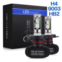 NICECNC S1 H4 High Low HB2 9003 CSP LED Headlight Bulb 50W 6500K For Honda CB1000R