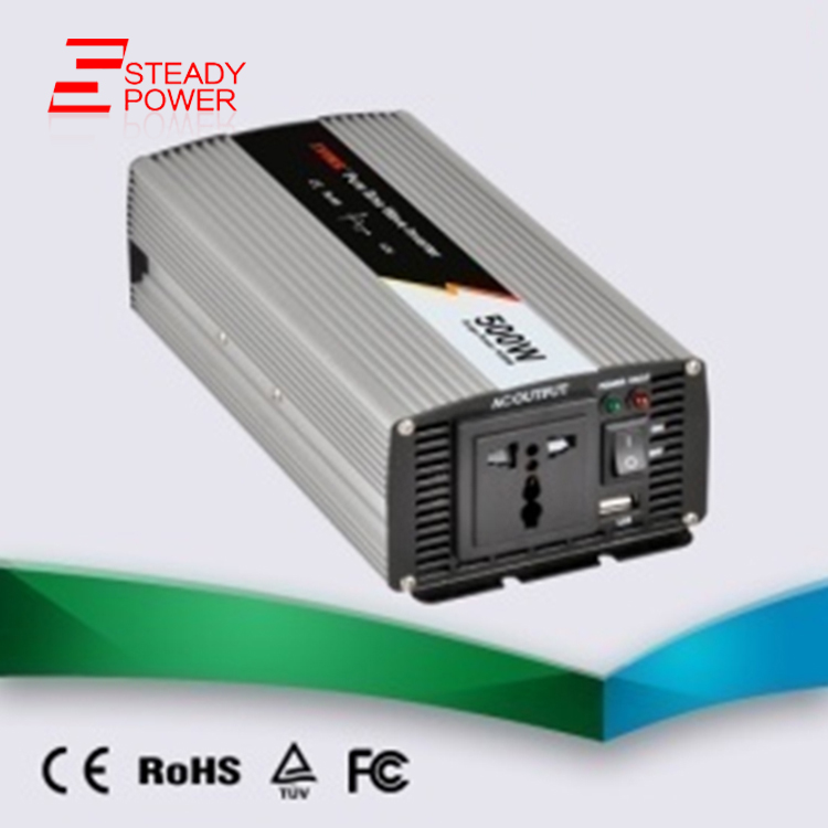 ФОТО (JYP-500) 500w pure sine wave power inverter 12v input 220v output