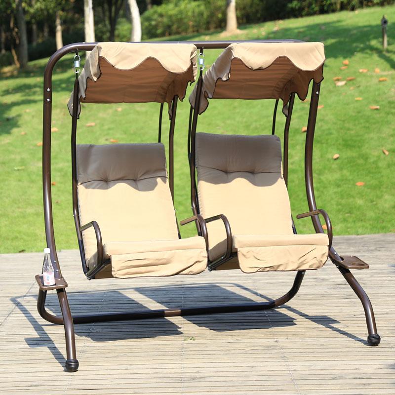 Constant good iron balconies hanging basket chair couple ...