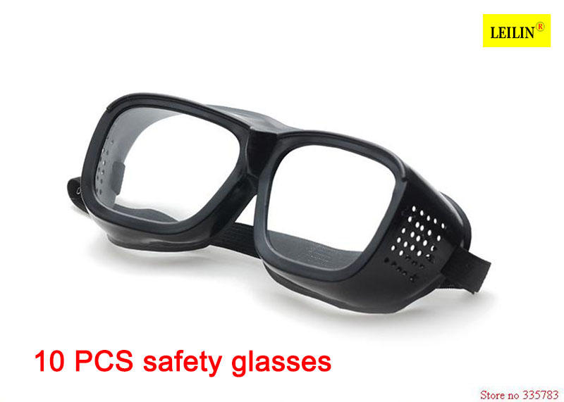 10PCS Safety Glasses Labour Working Protective Glasses Workplace Eye Protection Clear Safety Spectacles glasses welding free shipping aboratory protective glasses dust sand goggle sunglasses safety working glasses dustproof glasses riding glasses