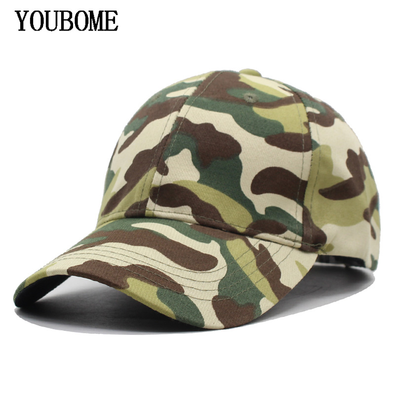 YOUBOME Fashion New Brand Men Baseball Cap Camouflage Snapback Caps Hats For 07089d42c3d