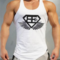 2016 New Arrival BE Muscle brothers Stringer Tank Top Men Bodybuilding and Fitness Men's Singlets Tank Sirts Clothes