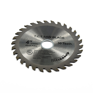Image 2 - 1XCAN 1pc 4 (110mm)x20x1.8mm 30 שיניים TCT ראה להב קרביד הטה עץ חיתוך דיסק מסור עגול להב