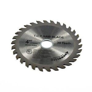 Image 2 - XCAN 1pc 4(110mm)x20x1.8mm 30Teeth TCT Saw Blade Carbide Tipped Wood Cutting Disc Circular Saw Blade