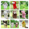New Arrival Animal Hand Puppet Toys Plush Puppets Sloth Duck Cow Parrot Monkey Snake Doll Baby Toy Brinquedo Marionetes Fantoche
