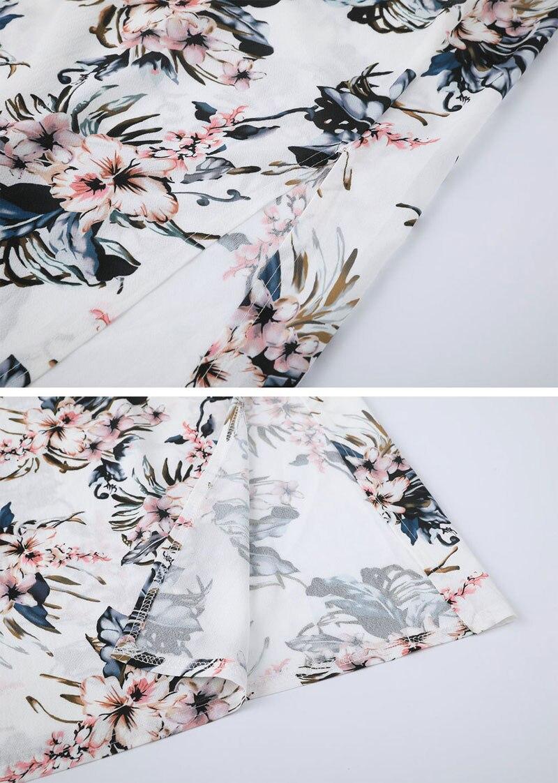 floral sem costas sensual frente única praia 2019