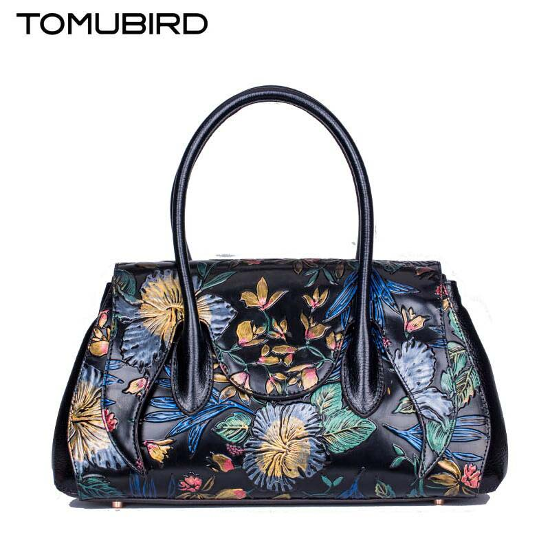Famous brand top quality Cow Leather women bag  Fashion Shoulder Messenger Bag High-end painted handbag Boston package famous brand top quality cow leather women bag fashion shoulder messenger bag high end painted handbag boston package