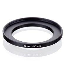 RISE(UK) 43 мм-55 мм 43-55 мм 43 до 55 мм повышающий кольцевой фильтр адаптер Черный