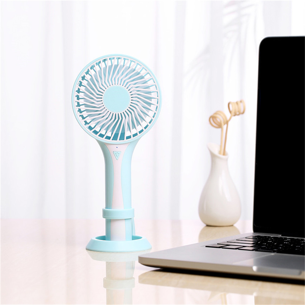 Portable Handheld Rechargeable Foldable Mini USB Fan Air Cooler Air Conditioning Fans Cooling Fan Battery (7)