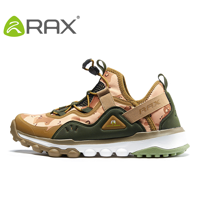 Rax Spring Summer Hiking Shoes Mens Outdoor Sports Sneakers Women Breathable Antiskid Trekking Shoes Lightweight Walking Shoes