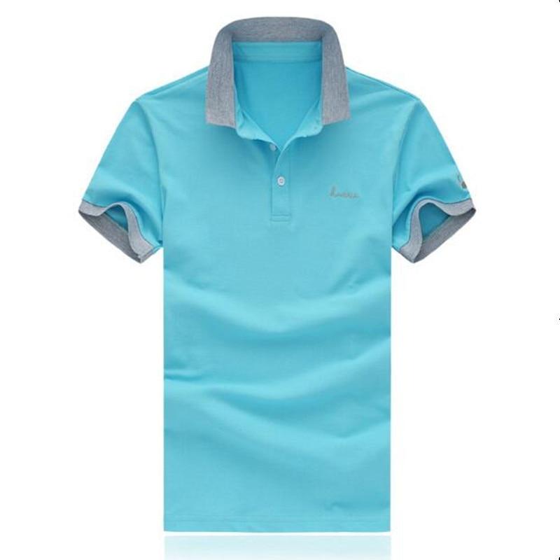 2019 Summer Classic Brand Men shirt Men Polo Shirt Short Sleeve Polos Shirt T Designer Polo Shirt Plus Size M-5XL