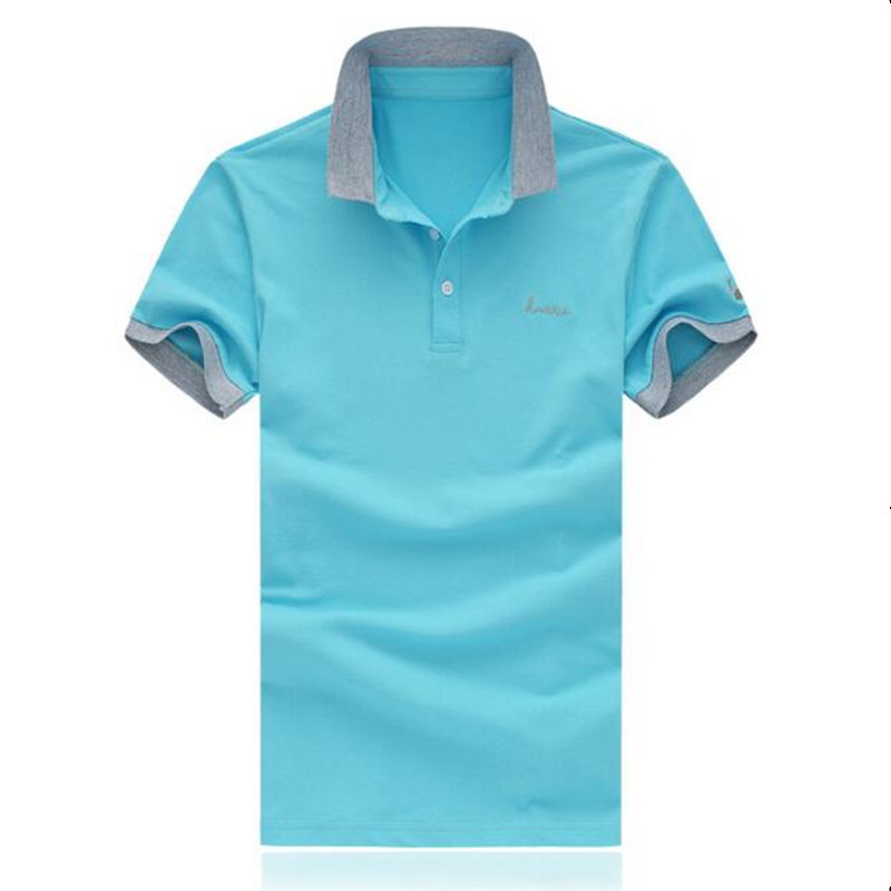2019 Summer Classic Brand Men shirt Men   Polo   Shirt Short Sleeve   Polos   Shirt T Designer   Polo   Shirt Plus Size M-5XL