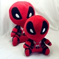 4pcs/set 20cm  Marvel Movie  Deadpool Spiderman Plush Doll Toy Figure free shipping
