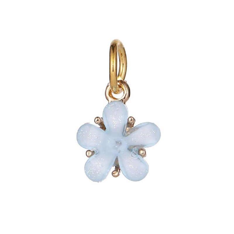 Phù hợp với Pulsera Pandora Charm Bạc 925 Nguyên Bản Vòng Tay Perles Pour La Chế Tạo De BIJOUX Charm Hạt Trang Sức Làm