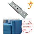 Furniture Hardware Sofa Bed Connector Hinges,Use For Connect Sofa Armrest Or Sofa Backrest D28