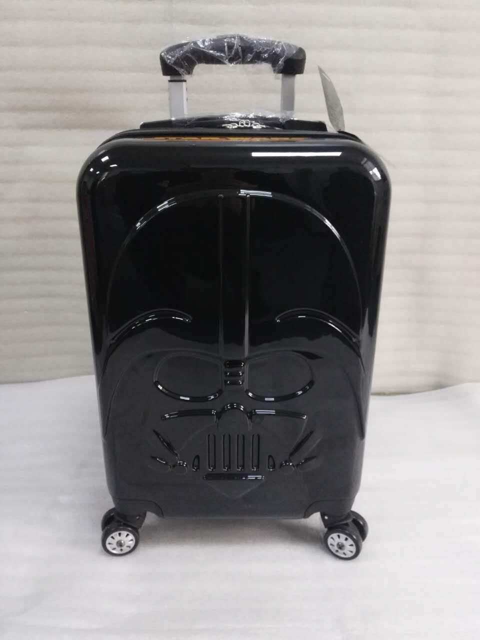 Star Wars Dark Warrior Rolling Luggage Spinner High quality brand Travel Suitcase