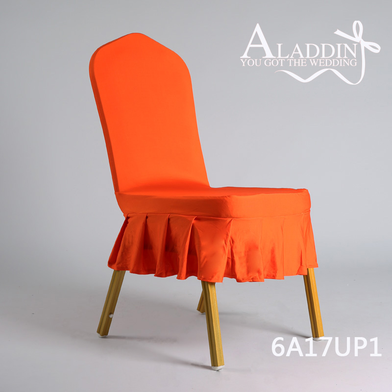 Short Skirt Chair Cover For Dining Room Chairs Pleated
