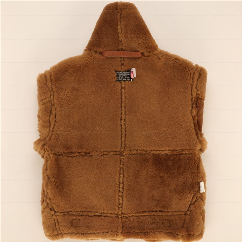 ambientale Ultimo Uomini shearling 44