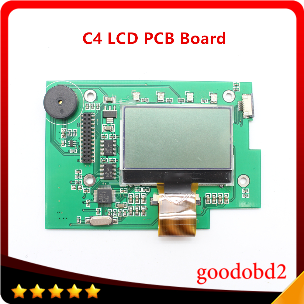 Voiture camion outil SD Connect C4 multiplexeur Port lcd carte Support MB Star C4 outil de Diagnostic SD Connect Compact4 LCD carte PCB