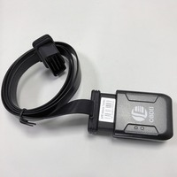 Mini Plug Play OBD GPS Tracker Car GSM OBDII Vehicle Tracking Device OBD2 16 PIN interface gps locator with extend OBD cable