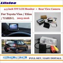 For TOYOTA Sportsvan - Car Reverse Backup Rear Camera + 4.3