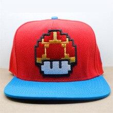 936757264 KMW18 Game Super Mario Bros Hat Trucker Baseball Snapback Caps Hip ...