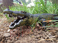 75cm Simulation Crocodile Models Plastic Action Figures Wildlife Aniaml Models Toys Christmas Birthday Gift for Kids