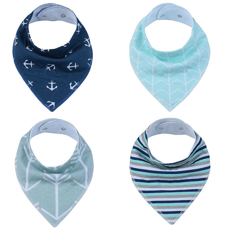 """Baby Bandana Drool Bibs for Drooling and Teething 2-Pack Gift Set /""""Confetti/"""" by Copper Pearl"""