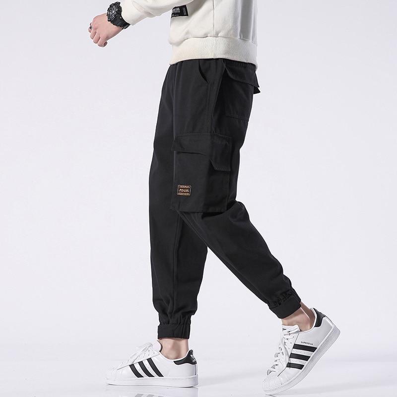 M-4xl 5xl 2019 Spring Track Pants Men Sweatpants Mens Joggers Pants Cargo Camo Tactical Harem Spring Punk Pants