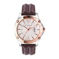 New Julius Man Homme Wrist Watch Auto Date Big Fashion Hours Dress Sport Retro Leather Student
