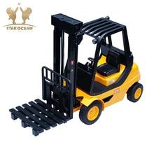 лучшая цена Engineering Vehicle Toys Electric Excavator Contruction Forklift Beach Toys Truck 2.4G Remote Controller High Simulation