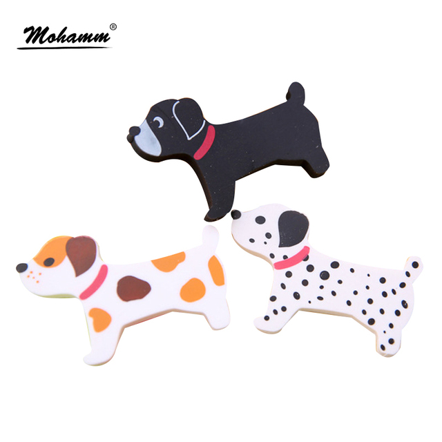 Aihao Cute Dog Animal Kawaii Pencils Erasers Rubber Office School Supplies Stationery