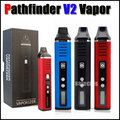Pathfinder V2 dry herb vaporizer pen herbal 200-600F hebe electronic cigarette Kit 2200mah vapor e cigar similar to titan 2 1