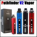 Pathfinder V2 erva seca caneta vaporizador de ervas 200-600F hebe eletrônico kit cigarro 2200 mah vapor e charuto semelhante ao titan 2 1