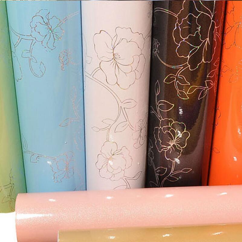 new arrive pearl bright pure color self adhesive wallpaper with laser flower designs furniture renovate new bright ракетная установка на радиоуправлении new bright