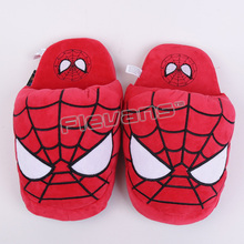 Batman Superman Deadpool Spiderman Plush Shoes