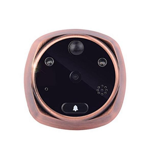 4.3 pouces sans fil HD numérique porte visionneuse caméra porte oeil vidéo Record judas téléspectateurs oeil US prise infrarouge IR Vision nocturne
