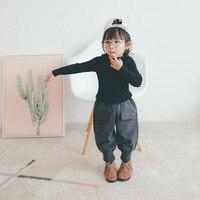 2018 Winter New Brand Children Clothing Korean Woolen Radish Pants Fashion Baby Girls And Boys Solid