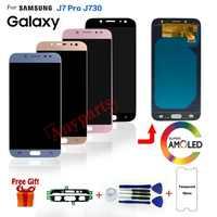 Pour SAMSUNG J7 Pro SM-J730F/DS affichage lcd écran remplacement pour Samsung Galaxy J7 Pro J730F J730G lcd écran d'affichage modules