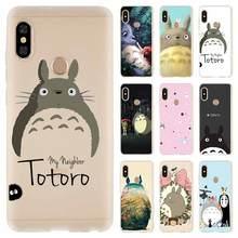 Nowy Totoro obok drzwi moda miękka TPU skrzynki pokrywa dla Coque Xiaomi Redmi 9a 8a 7a 6a 5a uwaga 9 8 7 6 5 Pro 8t y3 tanie tanio NAYIDA CN (pochodzenie) Aneks Skrzynki Totoro next door Mobile Phone Case Redmi Uwaga 5 Pro Redmi 5 Plus Redmi 4A 4X Redmi