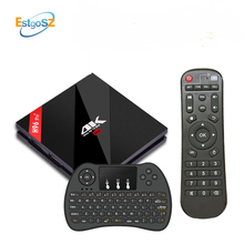 H96 Pro + Plus EStgoSZ 3G 32G Android 7.1 TV box Amlogic S912 Octa core-64 Bits 4 K BT4.1 Com Teclado Russian X96 Set Top Box