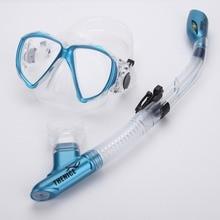 THENICE противотуманная Маска Для Сноркелинга и наборы и маски для дайвинга подводное плавание оборудование очки профессиональная Дайвинг силиконовый для подводного плавания