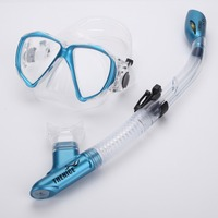 Free ship.THENICE Anti fog Snorkeling Goggles and Diving Mask set Snorkeling Equipment Glasses Profession diving silicone Scuba