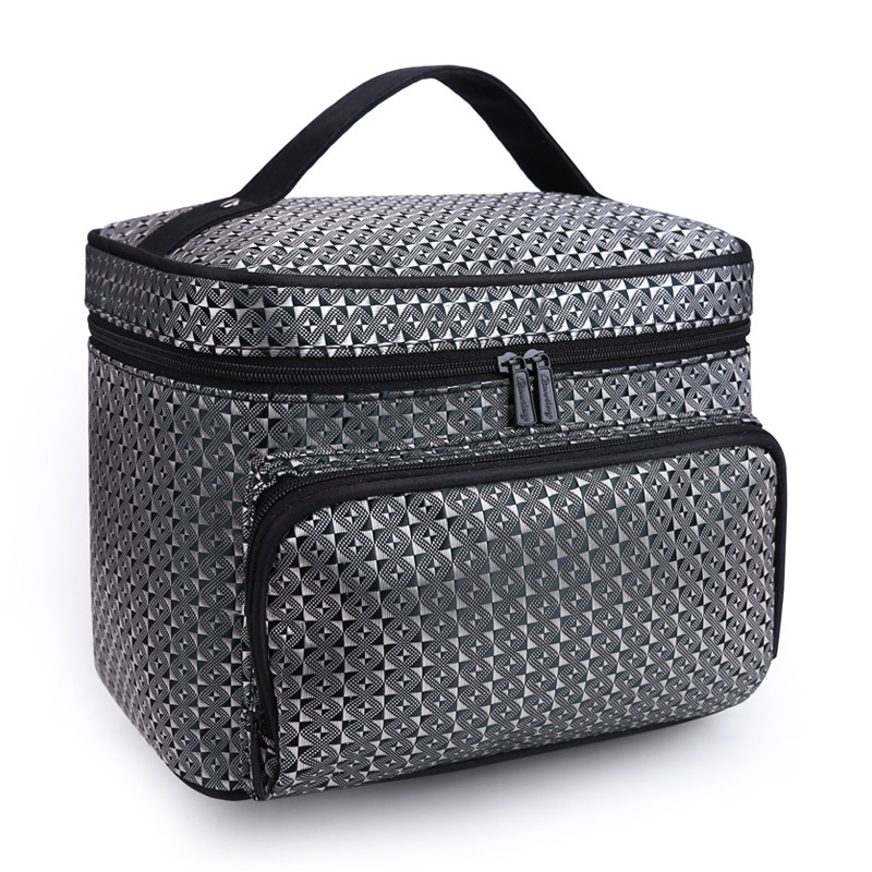 Large Makeup Toiletry Wash Bag Women's Travel Cosmetic Beauty Vanity Cases Box Organizer Toiletries Storage Accessories Supplie