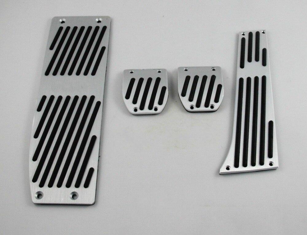 Voiture Nouvel alliage D'aluminium D'accélérateur D'embrayage De Frein Pad Gaz Essence Repose-pieds Pédale Ensemble pour BMW X1 M3 E39 E46 e87 E84 E90 E91 E92