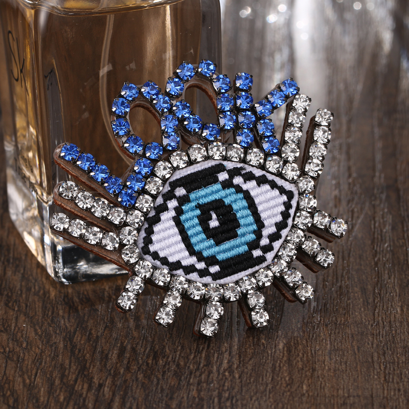 Yhpup Nova Moda Na Moda Olhos Azuis Magia Mulher Jóias Broches Pave Luxo Cristal Charme Pinos E Broche Para Festa Fashion Jewelry Brooches Jewelry Broochpins And Brooches Aliexpress